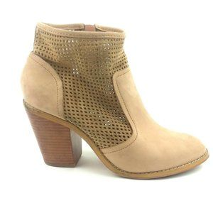 Saks Fifth Avenue Leather Ankle Booties